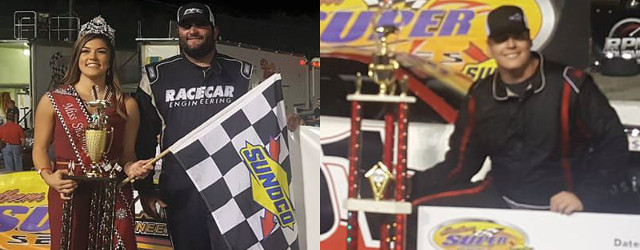 A champion was crowned Saturday night at Five Flags Speedway in Pensacola, Florida. Stephen Nasse held on for 125 laps in the Southern Super Series, finishing second to race winner […]