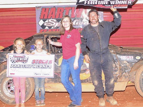 Jones Rebounds For Hartwell Speedway Stock V8 Win