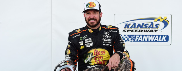 You can't blame Martin Truex, Jr. for looking ahead. The Monster Energy NASCAR Cup Series leader didn't need to win the pole position at Kansas Speedway, having already qualified for […]