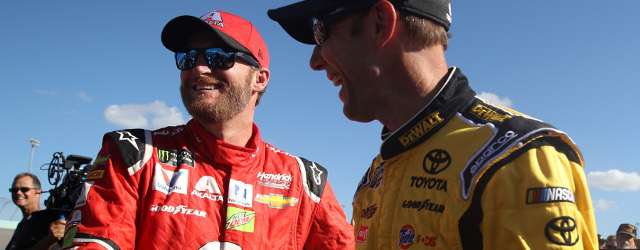 The crew in black and yellow fire suits went methodically about its business, check-listing last details before the beginning of the final Monster Energy NASCAR Cup Series race of the […]