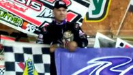 Mark Smith took the lead on the start of Saturday night's USCS Sprint Car Series feature at Bubba Raceway Park in Ocala, Florida, and went on to score the victory. […]