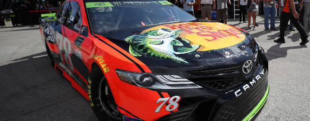 In opening Monster Energy NASCAR Cup Series practice at Homestead-Miami Speedway, Championship 4 driver Martin Truex, Jr. brushed the outside wall hard enough to scrape the paint off the right […]