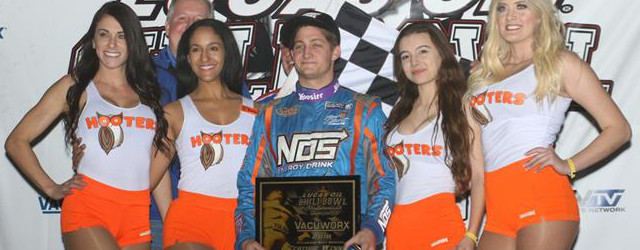 Justin Grant found the high line early and never left it during Friday night's 25-lap A-Feature in the 32nd Lucas Oil Chili Bowl Midget Nationals at Oklahoma's Tulsa Expo Raceway. […]