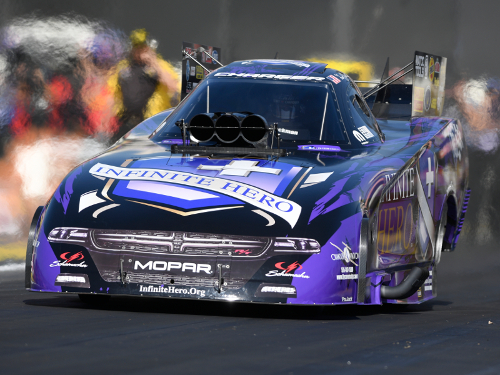 Beckman Leads Friday Funny Car Qualifying At Pomona