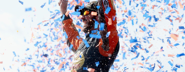 Martin Truex, Jr. drove three things on Sunday afternoon at Auto Club Speedway. First, he drove the No. 78 Furniture Row Racing Toyota to a dominating victory in the Auto […]