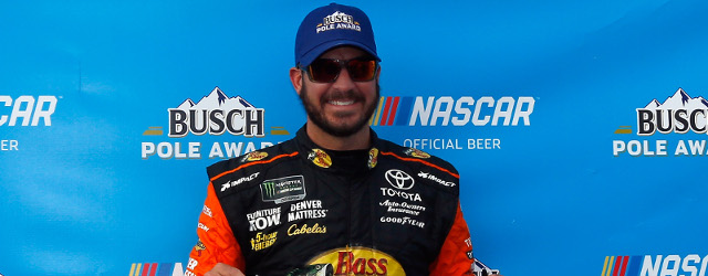 With the Monster Energy NASCAR Cup Series qualifying field thinned significantly by inspection issues, Martin Truex, Jr. won his second straight pole of the season in Friday's knockout qualifying session […]